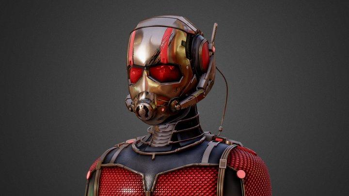 Ant-Man 3D Model - Fan Art 2015. 3D Model