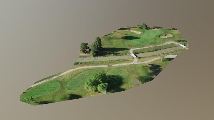 St. Clair Shores Golf Course - Hole #12 3D Model