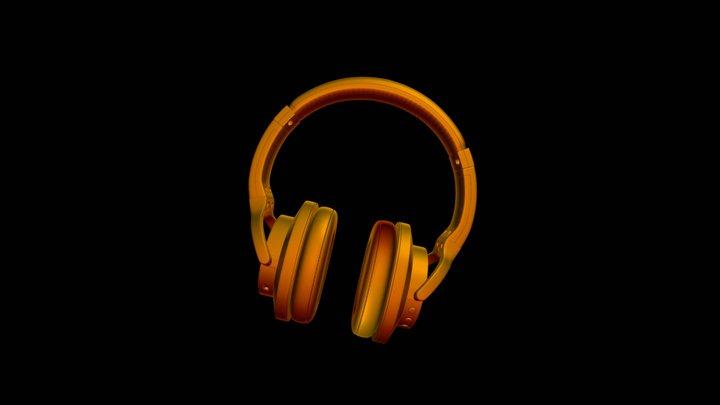 Headphones Z2 3D Model