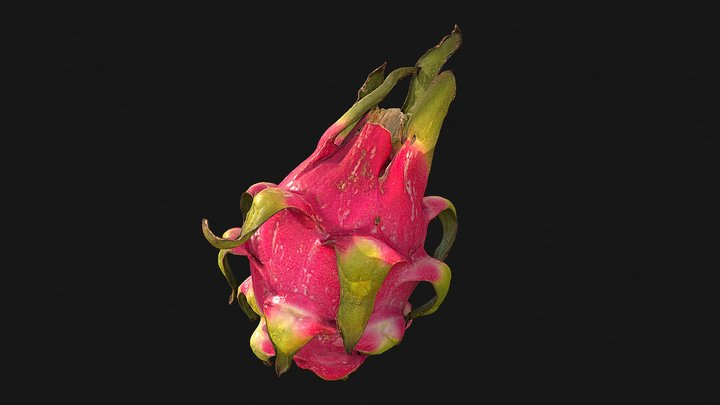 3D Scan: Dragon Fruit / Pitaya 3D Model