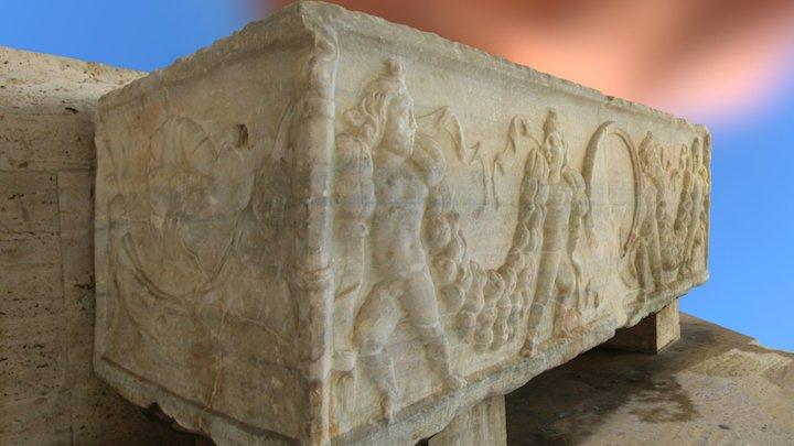 roman sarcophagus 3D Model