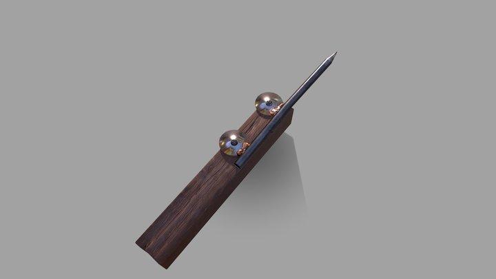 Nailknife 3D Model