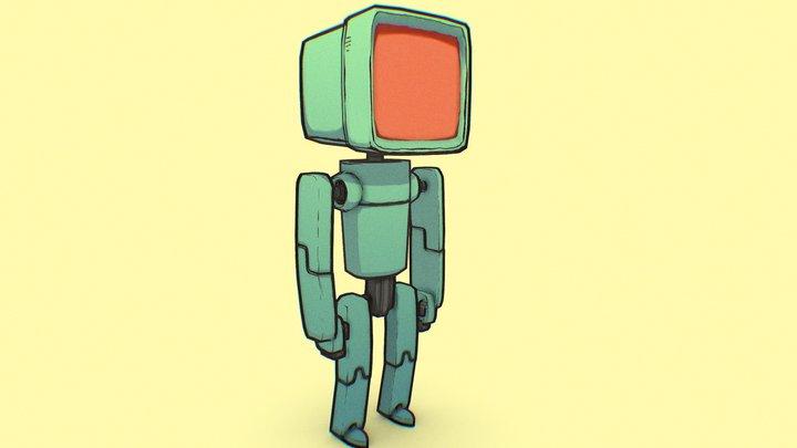 Jake Parker's Bots 3D Model