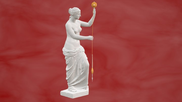 Venus de Milo Spinning Thread 3D Model