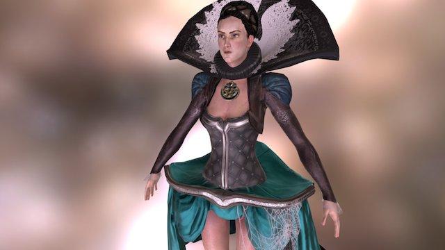 Countess Elizabeth Báthory 3D Model