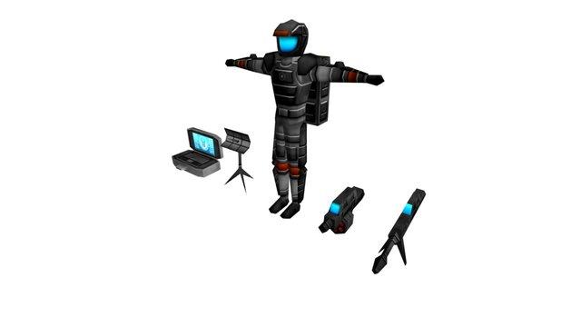 WEA Legionaire 3D Model