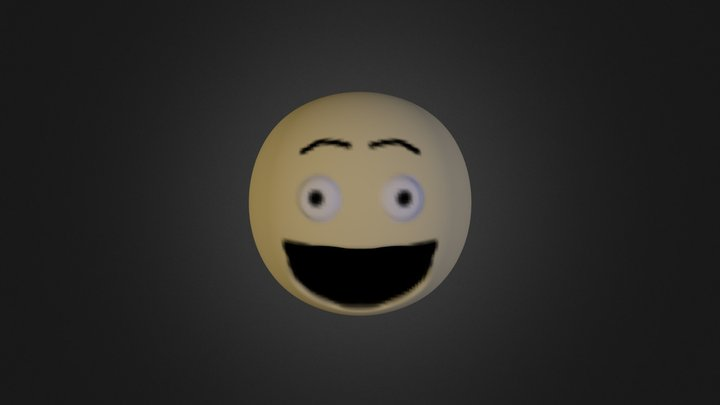Very-happy-face 3D Model