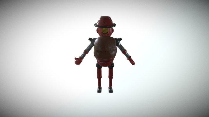 Random Robot 3D Model