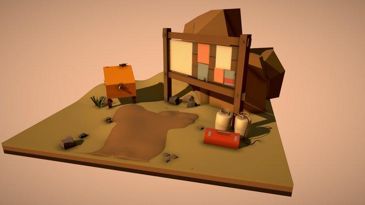 Draft_FireWatch Stuff 3D Model