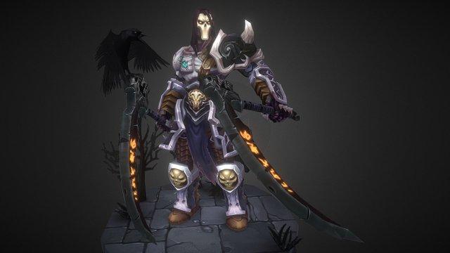 Darksiders_2 DeathArmor 3D Model