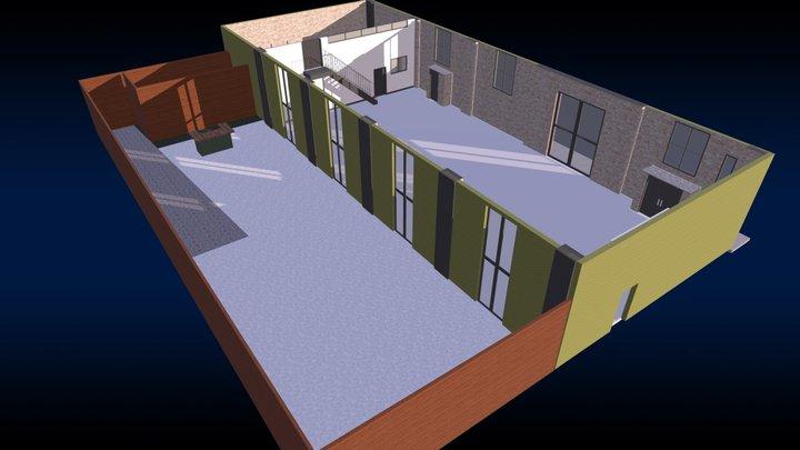 The Green Building 3D Model