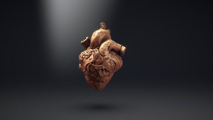 Unfinished Heart by Steve Little 3D Model