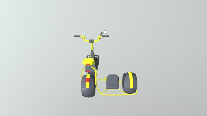 Scooter2.0 3D Model