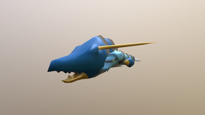 Clawitzer 3D Model