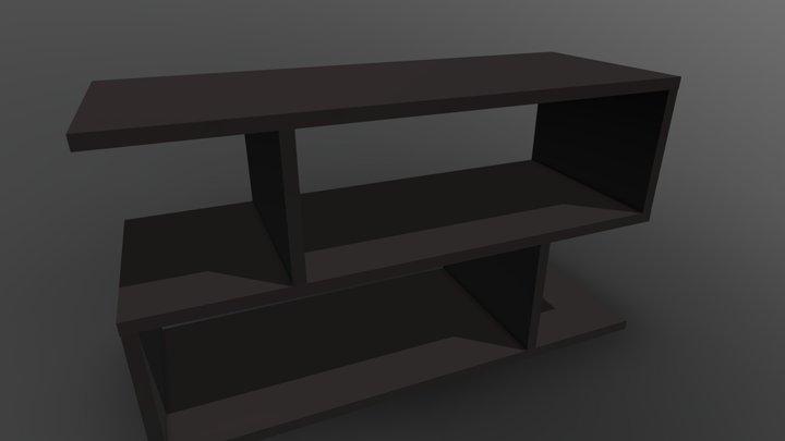 Modern Shelf 3D Model