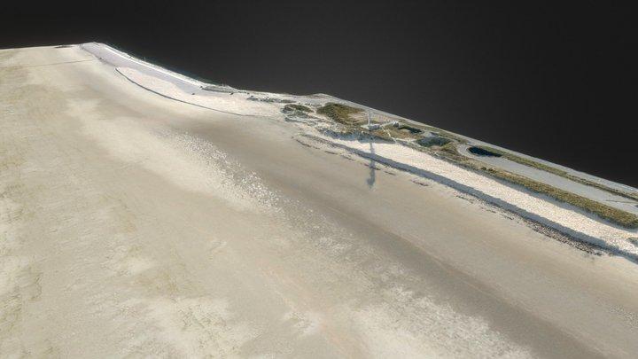 La digue du Braek, Dunkerque Port (59) 3D Model
