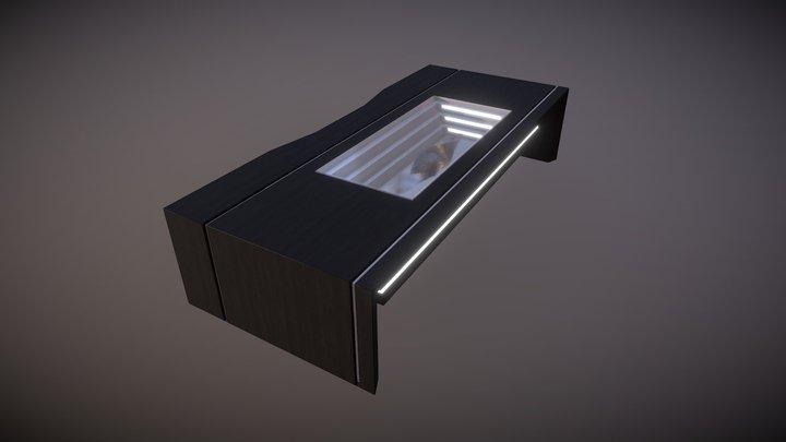 Scifi Desk 3D Model