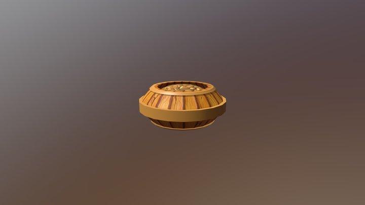 Barrel Model V3 3D Model