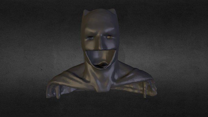 Batman v. Superman Cowl 3D Scan 3D Model