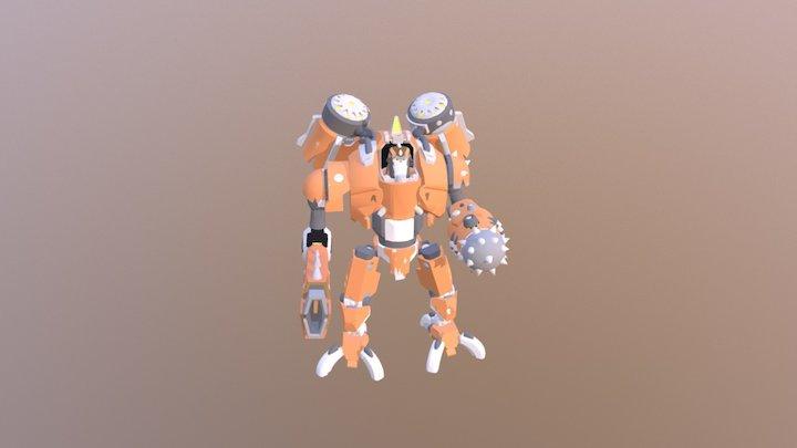 Battle Born Mech: Toby 3D Model