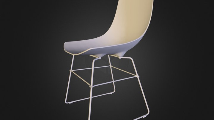 Free 3d model: Luc Chair by Rossin 3D Model