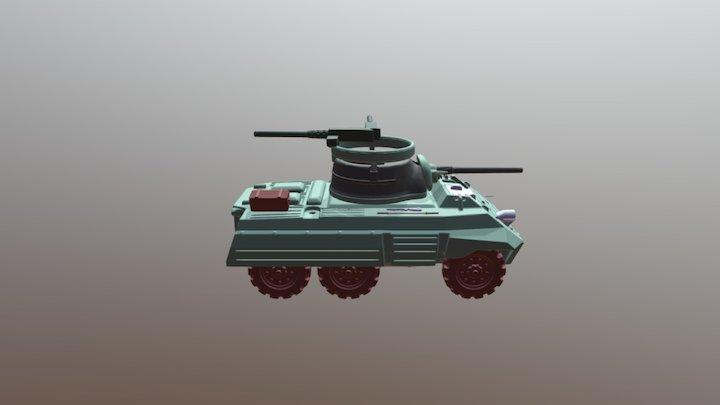 15mm M8 GREYHOUND 3D Model