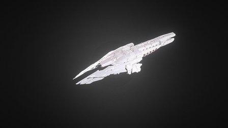 Minmatar Argohr (Unfinished) 3D Model