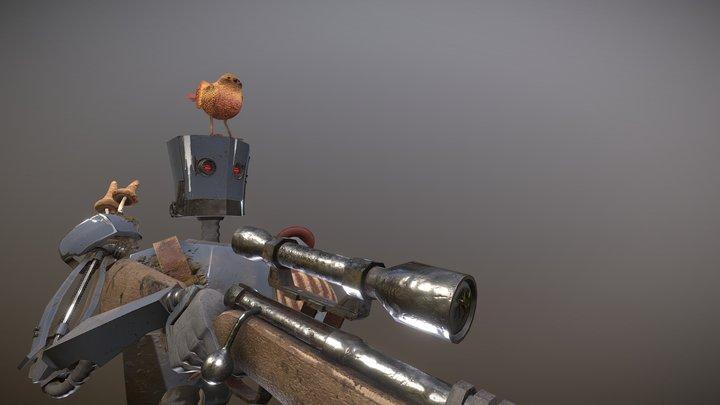 Hunter Robotto 3D Model