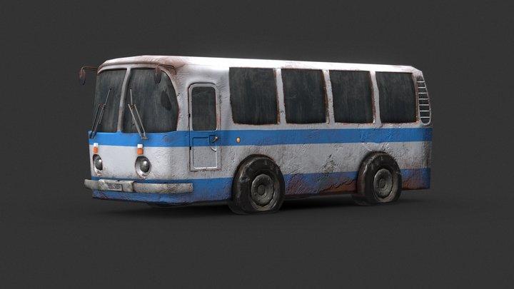 Bus USSR - low 3D Model