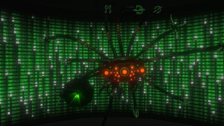 The Matrix - Sentinel Machine 3D Model