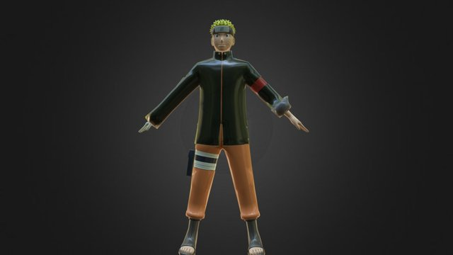 Naruto The Last (Rig Limited) 3D Model