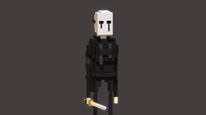 Ghostface Jim 3D Model