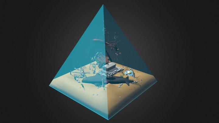 Bermuda Triangle 3D Model