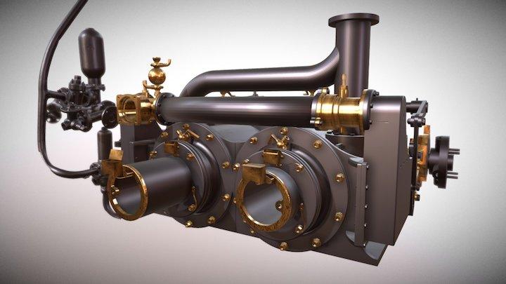 Xantho Engine Final 3D Model