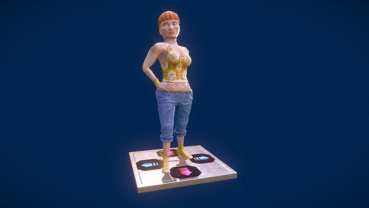 Elizabeth the dancer 3D Model