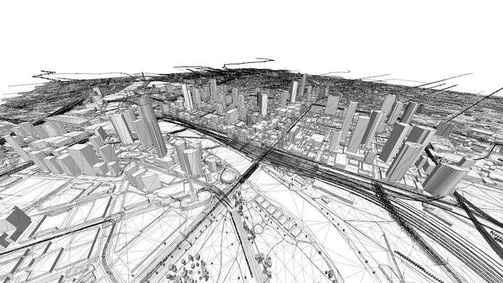 Melbourne 3D Model
