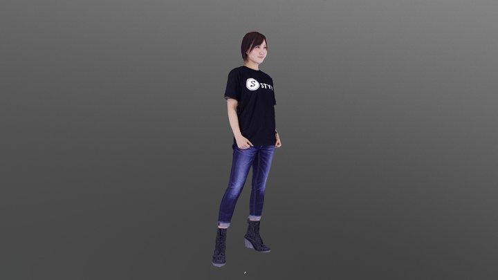 Aimi Sekiguchi Free 3D model 3D Model