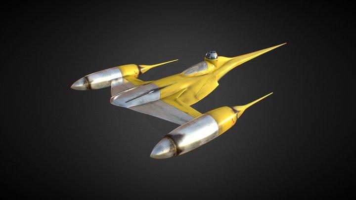 Naboo Starfighter_01 3D Model