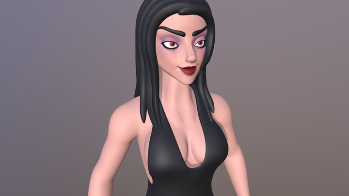 The Black Widow 3D Model