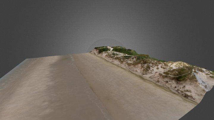 La dune Dewulf, Zuydcoote (59) 3D Model