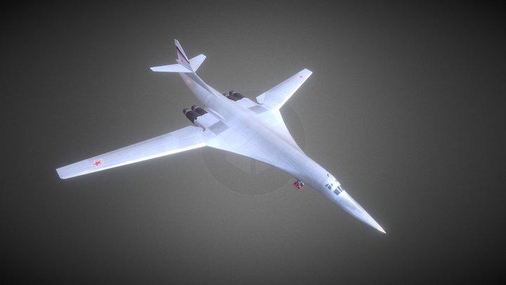 Tu160 Black Jack (by LightProduction) 3D Model