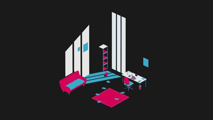 The Magic Room 3D Model