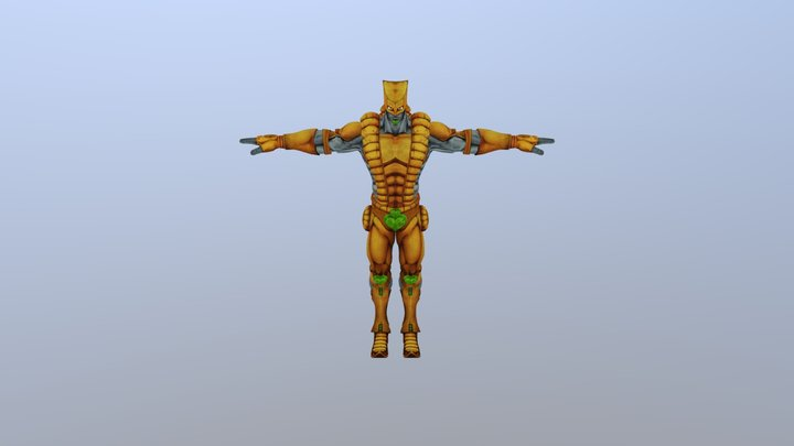 The World Stand 3D Model