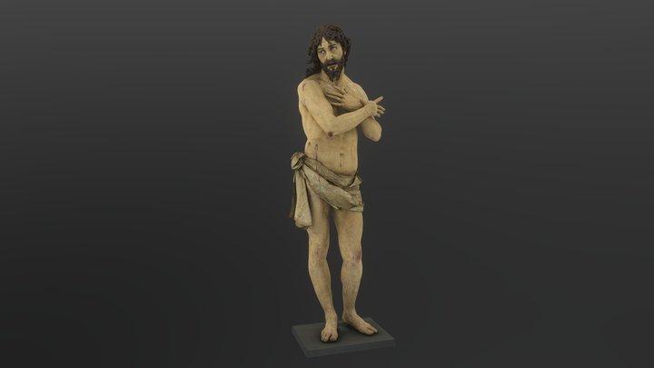 Ecce Homo - Gregorio Fernandez - c. 1621 3D Model