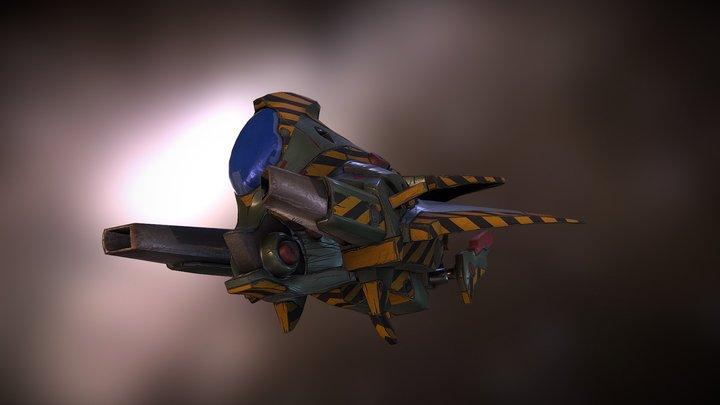 Starhawk 3D Model