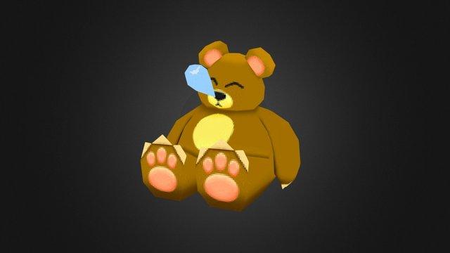 Sleepy Bear 3D Model