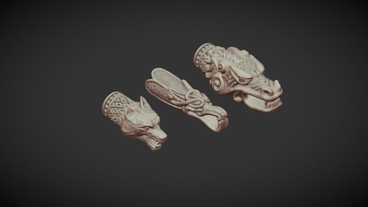 Piece of jewelry 3D Model