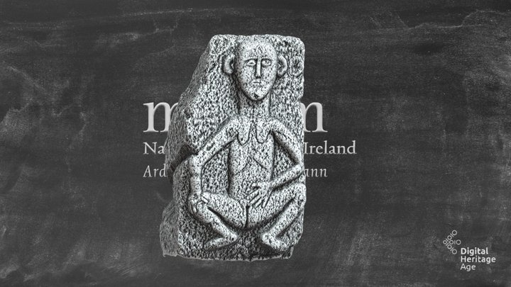 NMI:RASI-329 - Ballylarkin Upper - Sheela-na-Gig 3D Model