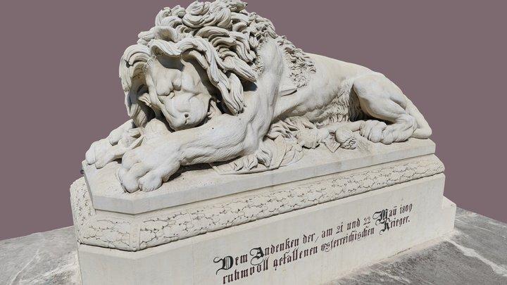 Löwe von Aspern 3D Model