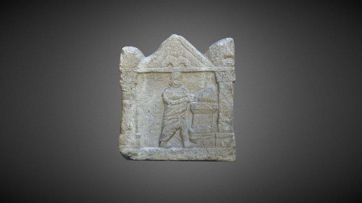 Stelă votivă - epocă romană 3D Model